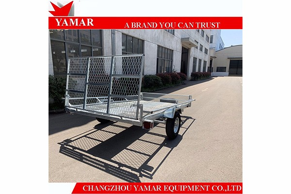 Advantages of hot dipped galvanized ATV Trailer