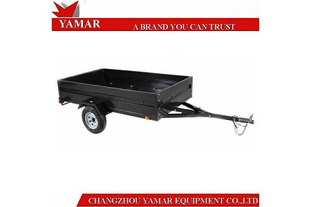 Advantages of 5x8 galvanized utility trailer