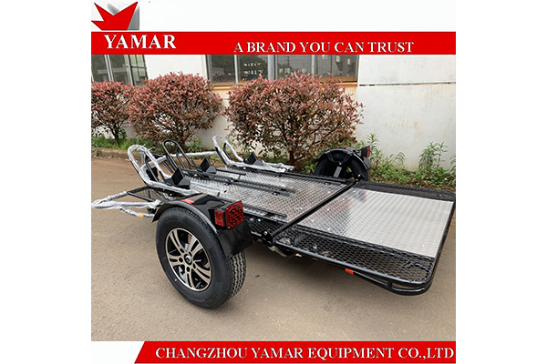 Advantages of 3 rail motorcycle trailer