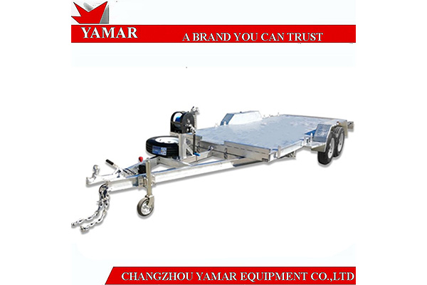 Features of aluminum car tow dolly